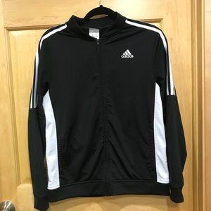 b015b026a4c6b adidas Jackets & Coats - Big boys Adidas Athletic Linear Jacket Black